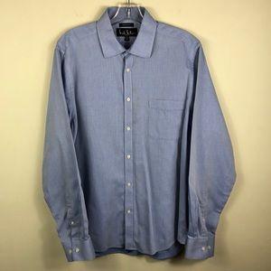 Nicole Miller Modern Fit Dress Shirt 16.5 34/35